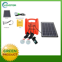 Small rechargeable led home lighting solar power system solar energy products