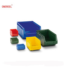 Eco-friendly Stackable Plastic Storage Bins for Warehouse