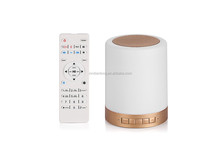 China factory color changeable rainbow quran touch sensitive led table lamp speaker quran