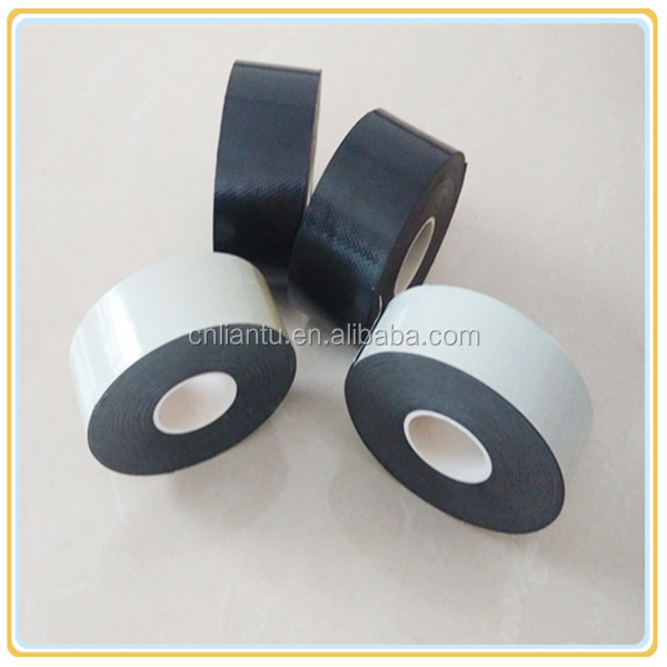 high voltage Black and white adhesive Self Fusing epr cable joint Tape