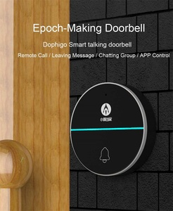 Yiroka doorbell with Intercon Talking Smart Alarm Wireless Doorbell