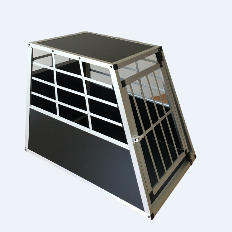 Big Single door Aluminum dog cage/dog house/travelling dog cage