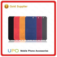 [UPO] 2017 New Products Ultra Slim View Flip Leather Smart Cell Phone Case Cover for HTC one m8 m9 E8 820 826