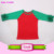 Girls cotton ruffle tops o-neck anchors raglan shirts baby girls raglan ruffle top