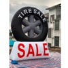 giant outdoor giant inflatable tire for advertising