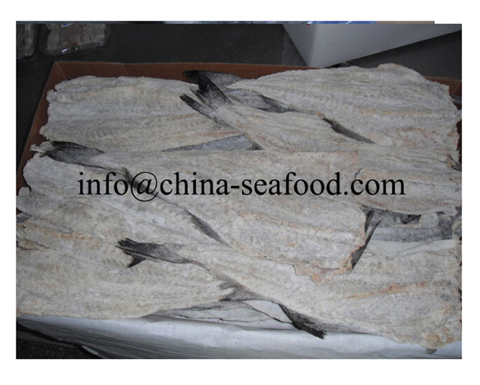 china good price Fillets portion loin pollock Dried salted pollock migas fish 161111