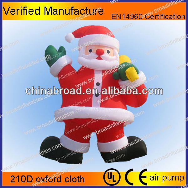 Hot-selling christmas decoration sleeping santa claus