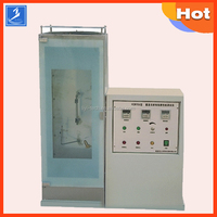 Electric Veritical flammability test equipment