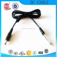 widely used UL 1185 18AWG 5.5x2.1 male connector custom DC power Cable