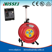 2016 Good Quality high-grade aluminum electric retractable cable reel