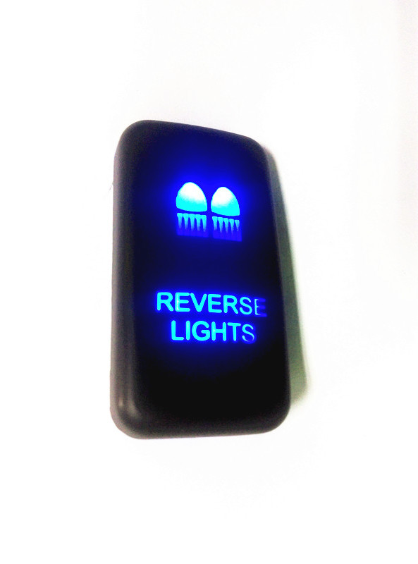 Wholesale OEM Auto car switch vigo blue Reverse light LED on off switch For Toyota