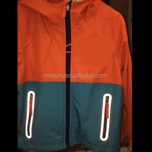 Reflective Decroration Laser Cutting Printing for Outdoor Jackets