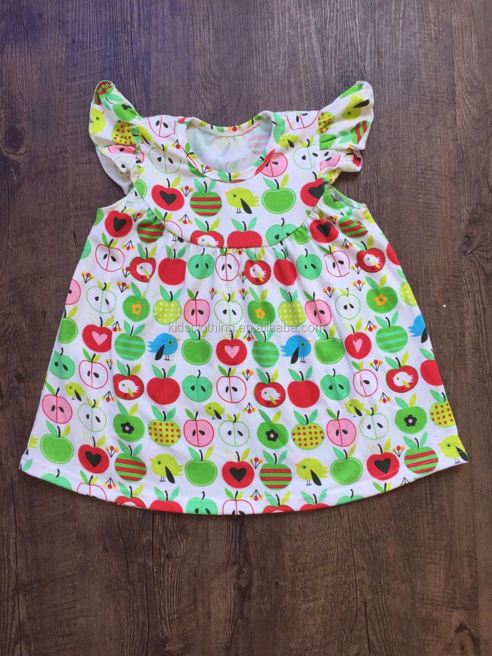 name brand kids clothes girls dress for summer fancy dresses for girls cotton ruffle pearl dress