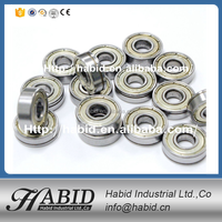 Long life low noise chrome steel 608 2rs bearing with best price