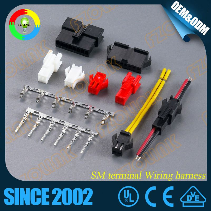 computer electronic home appliance male female wiring harness plug connector