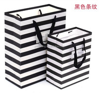 cheap wholesale shopping gift wonderful stripe paper bag