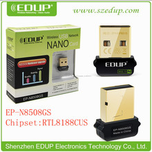 EP-N8508GS con Chipset Realtek8188cus 150Mbps Mini Wireless USB 802.11N del adaptador wifi