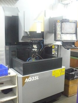 Used SODICK EDM AQ35L-Year 2005 for SALE