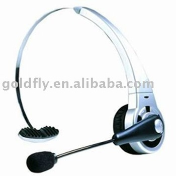 Head Wearing Bluetooth Headset for PS3,Computer and Mobile Phone (GF-BTH-068)