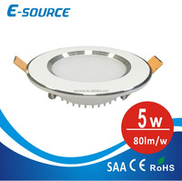 Die casting SMD downlight 5W hot sale in Pakistan