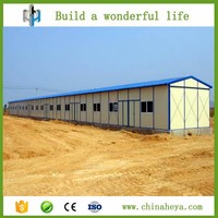 Factory price wholesale light steel structure prefab building design for labor