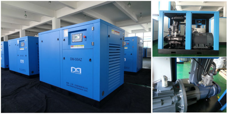 Shanghai industrial screw air compressor for paper mill