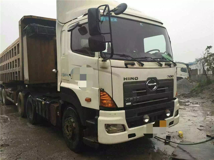 6X4 2012 Year Hino 700 Japan Used Dump Trucks For Sae