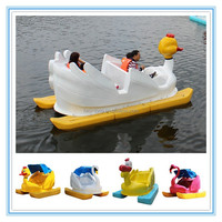 Fwulong hot sale cheap pedal boats/water wheeler pedal boat/paddle boat prices for kids
