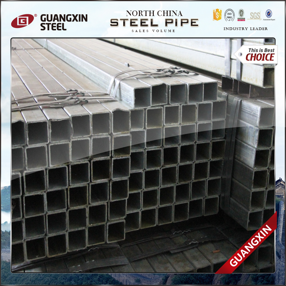 composite a123 galvanized square tube chinese goods