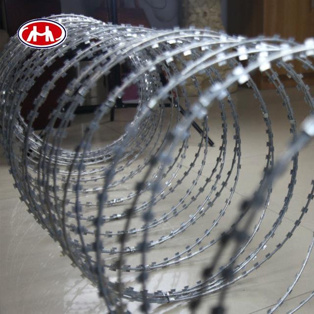 Wholesale galvanized clips razor barbed wire