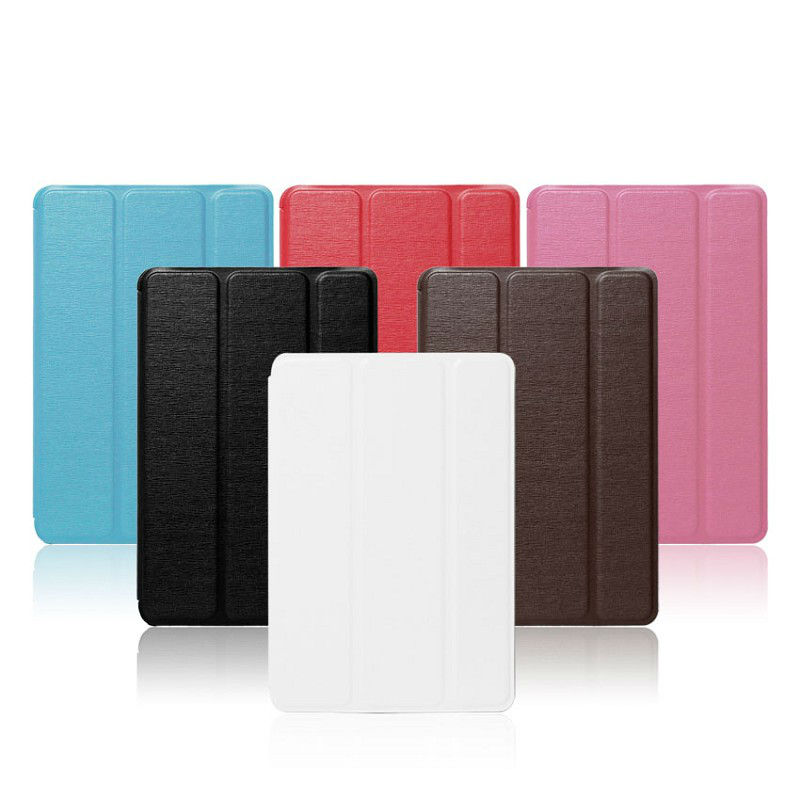 three folded one direction smart cover case for ipad mini