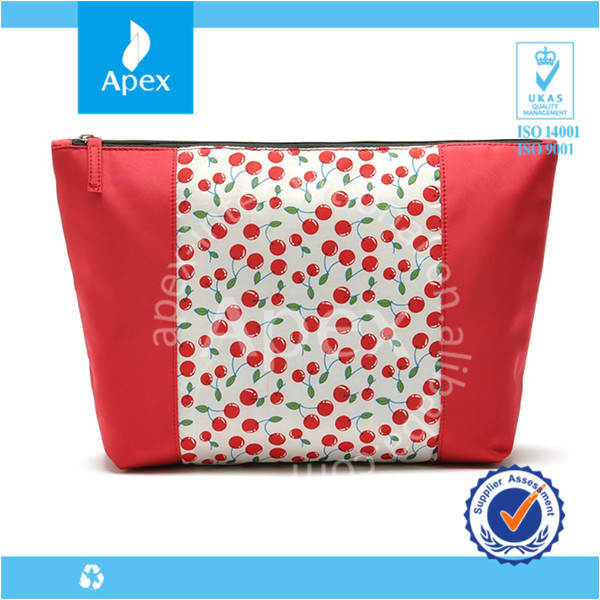Cherry cosmetics packaging bags