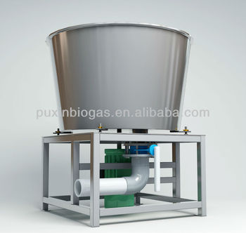 Huge capacity disposal industrial waste disposer
