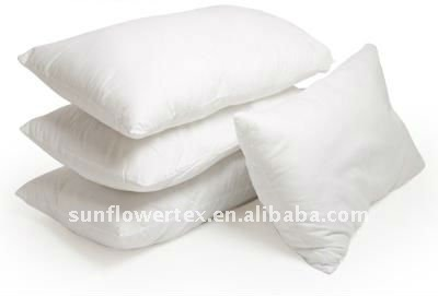 Hotel Collection Pillow - Polyester Fill & Cotton Cover