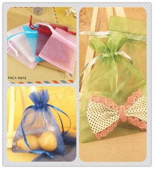 3X4 Organza Bag Gift Jewelry Pouch Wedding Favor 2014 New High Quality Organza Bags