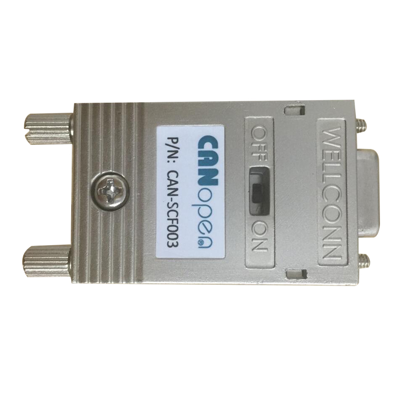 CAN bus interface connector: CAN-SCF003 for use in CAN-bus systems up to <strong>10</strong> Mbps