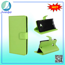 New Design PU Leather Flip Cover soft case for lumia 535