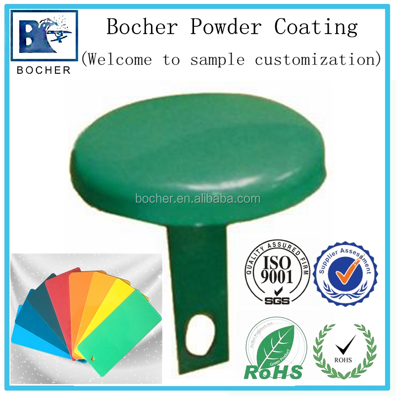 Manufacturer thermosetting powder coating applicated to metal