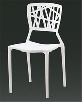 colorful high back plastic antique dining chair