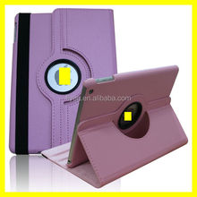 Hot Pink Case For Apple iPad 5 Air 360 Degree Rotating lichi pattern PU Leather Cover Stand