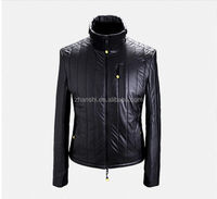 Fashion Turkish Warm Winter Clothes Polyester Padded Soft Shell Cheap Faux Leather Jacket Men