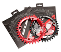 GUB XX11 bicycle mountain bike mtb Oval crankset Chainring Chainwheel 34T 36T Aluminum BCD104 Gear
