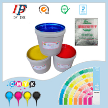 Gravure printing ink for PE/HDPE/PP plastic film