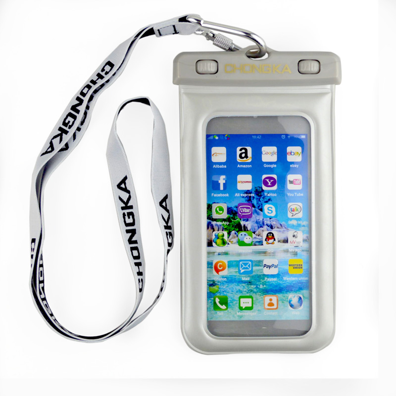 Crystal Case for Mobile Phone Waterproof Bag Case for Galaxy Note