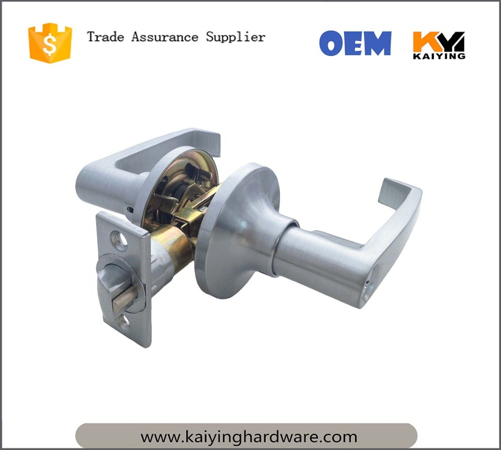 OEM Lever Door Handle Lock, For Use of Entry, Passage, and Bathroom (without key)