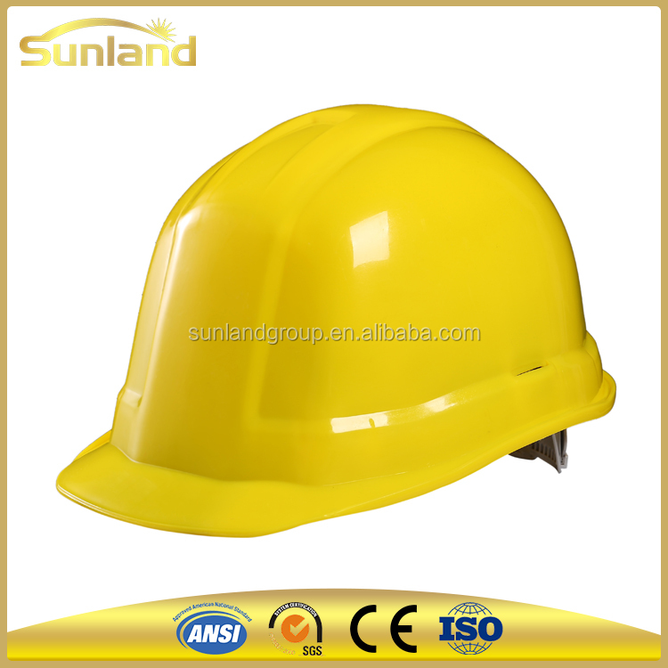 lightweight industrial safety helmet with HDPE shell hard hat for construction worker