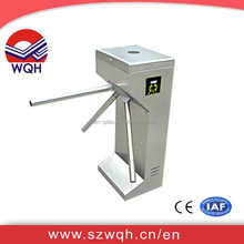 WQH factory price offer RFID Vertical Tripod Turnstile With LED Light