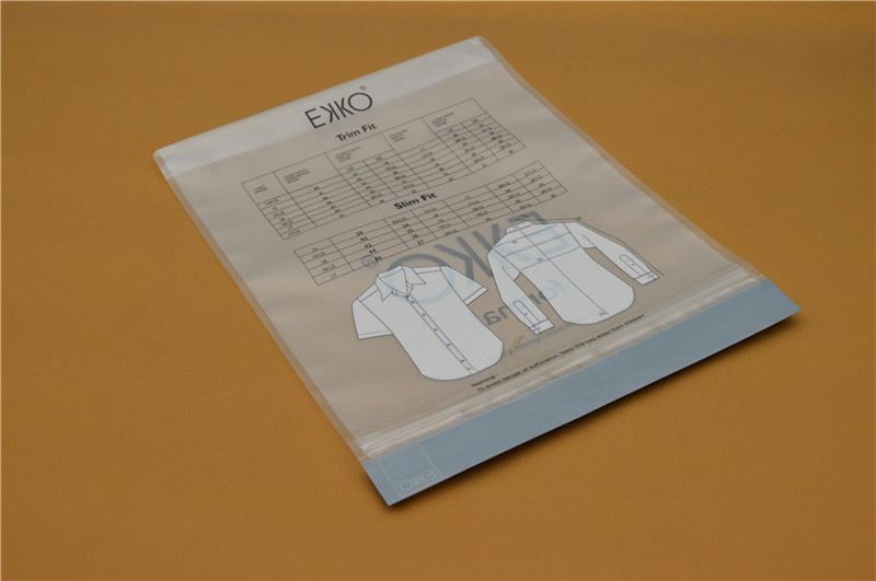 water soluble apparel packaging bag
