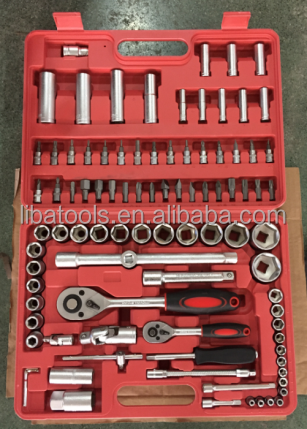 94 pieces auto tool impact socket wrench set for cars