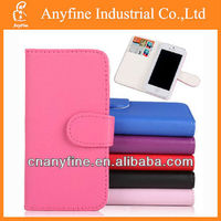 For iphone5 colorful flip cover leather case,PU flip case for Iphone5